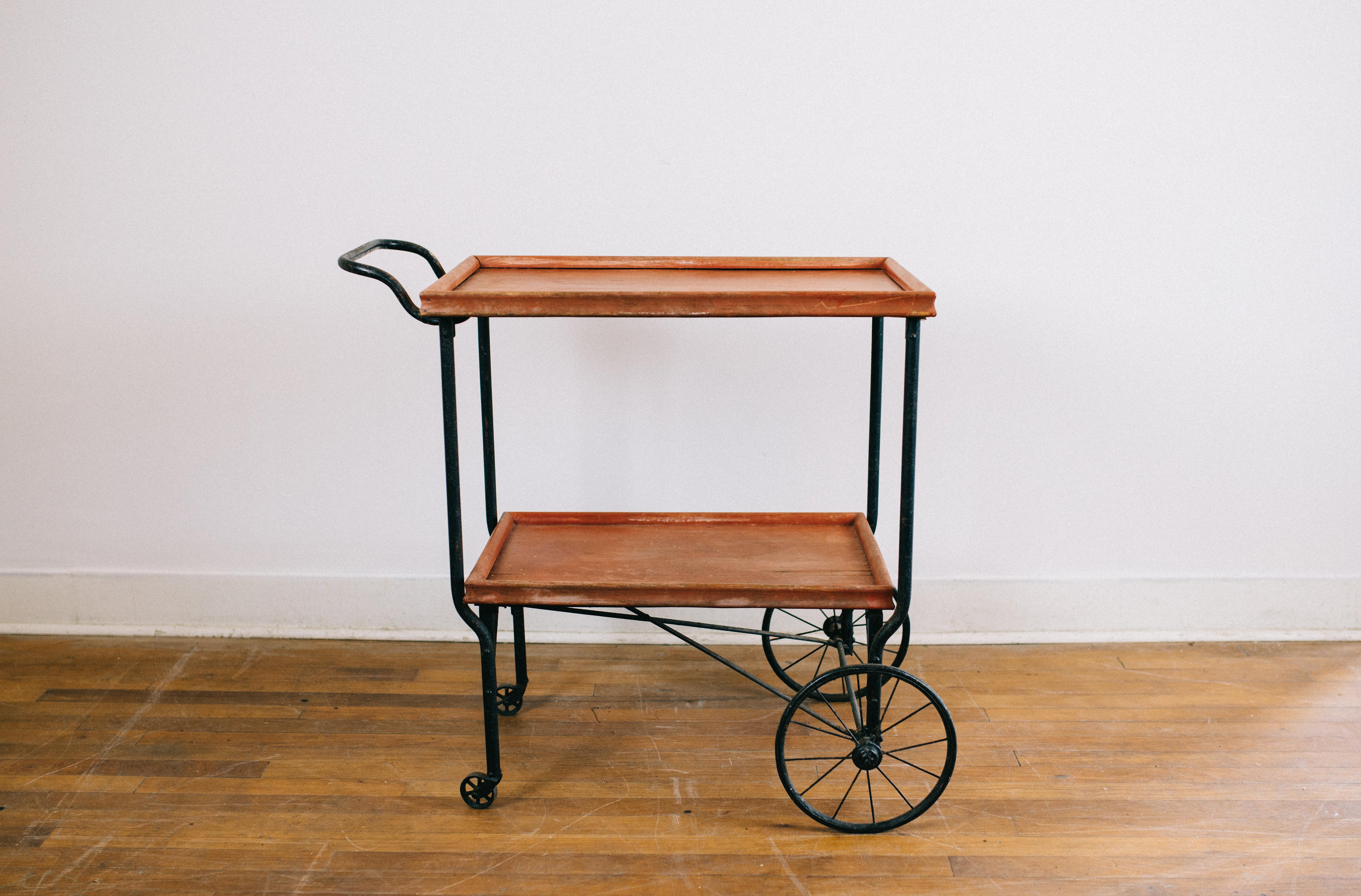 Vintage Metal Kitchen Cart Specialty Vintage Wedding Party Rentals New Orleans Events