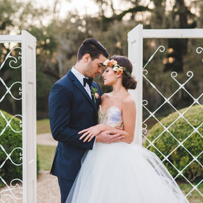 Afton Villa Gardens' Whimsical Garden Wedding Ideas with Lance Nicoll, Leaf + Petal NOLA, Everly
