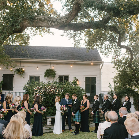 Emily & Niall | New Orleans Wedding with Iris & Oak, Masters of Love Photography, Little Bus