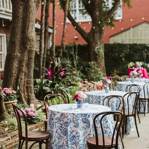 New Orleans French Quarter Wedding with Vintage Details | Lovegood Wedding & Event Rentals