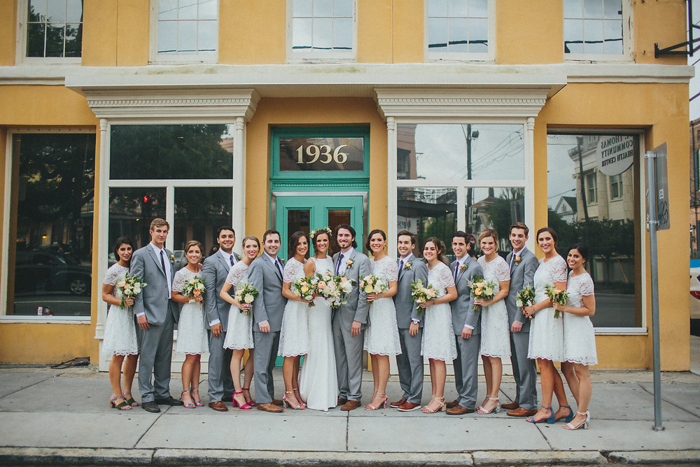 New Orleans Wedding with Desiree Watkins Photography, Brooke Casey Weddings, Poppy + Mint Florals, Il Mercato, and Lovegood Wedding & Event Rentals