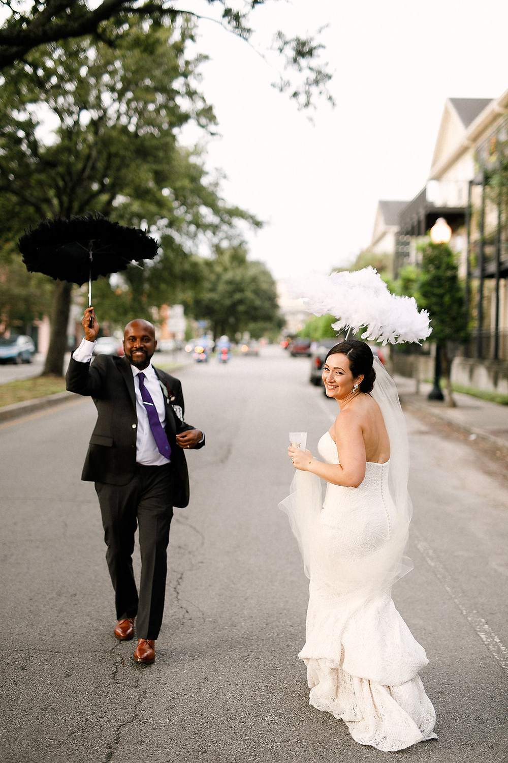 New Orleans Wedding with Ruby and Pearl Events, Kaylynn Marie Photography, Antigua Florals + Styling, Lovegood Wedding & Event Rentals , Kinfolk Brass Band at Race & Religious / Vintage Decor, Lounge Space, and Classic Farm Tables