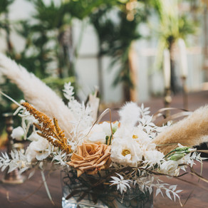 Morgan + Micheal | NOLA White, Cream + Pampas Grass filled Boho Wedding at Race & Religious with