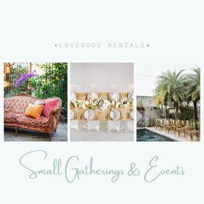 Small Gatherings & Events by Lovegood
