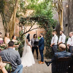 Erica & James | New Orleans Wedding Tasha Rae Photography, Pharmacy Museum, Benachi House, and L