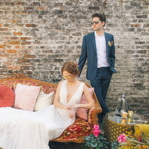 Art Estuary Inspirational Shoot with Ollie Alexander, Fat Cat Florals, and Lovegood Wedding & Ev