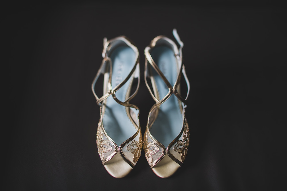 Wedding Shoes | Lovegood Wedding & Event Rentals | Sully Clemmer Photography