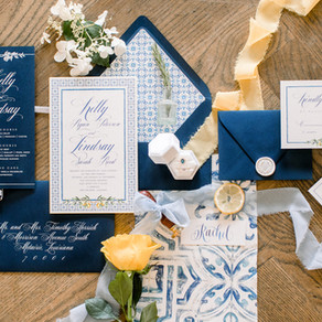 South Italy Inspiration Shoot at Il Mercato in New Orleans with Lovegood Wedding & Event Rentals