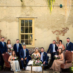 Carrie & Cody | New Orleans Destination Wedding at Race & Religious featuring Lovegood Loung