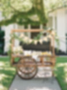 Lovegood Wedding & Event Rentals - New Orleans Furniture and Decor Company with Large Pieces, Merchant Carts, Buffets, and more!