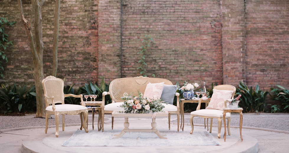 Lovegood Wedding & Event Rentals | Vintage, Specialty Furnitue and Decor for Weddings an Events in New Orleans and the Souteast