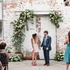 Leaf + Petal NOLA Wedding at the Warehouse of Lovegood with Lance Nicoll Photography, Little Bushel,
