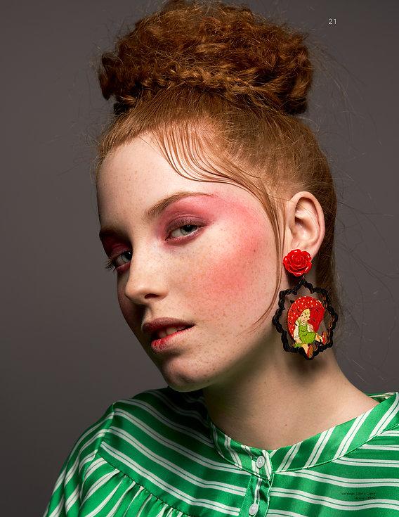 statement jewelry earring