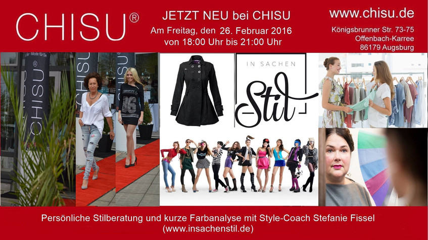 Stilberatung Augsburg Shoppingevent