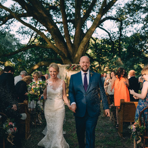 Amanda & JD | New Orleans Wedding with Dark Roux, Blue Gardenia Events, Kim Starr Wise Floral Ev