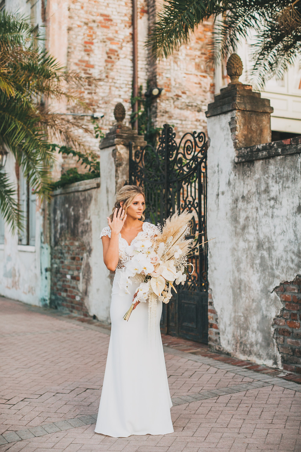 Lovegood Wedding & Event Rentals, New Orleans Vintage Rental Company for Corporate, Parties, and Weddings | Lounge Furniture in NOLA, Specialty Rentals, Decor across the Southeast, Boho Bouquet and Bride