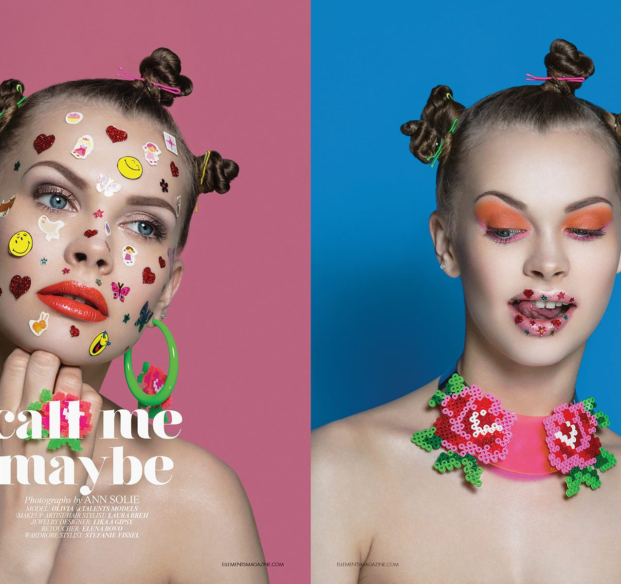 Call me Maybe... (Editorial Elléments Magazine Sep/18)