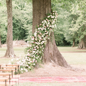 Hope and Jordan's Louisiana Backyard Wedding with Alexi Lee Photography, Angela Marie Events, Root F