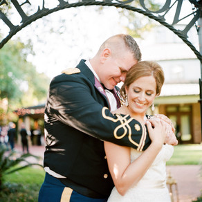 Kelly & Jay | New Orleans Wedding at St. Louis Cathedral and Audubon Tea Room with Mise en Place