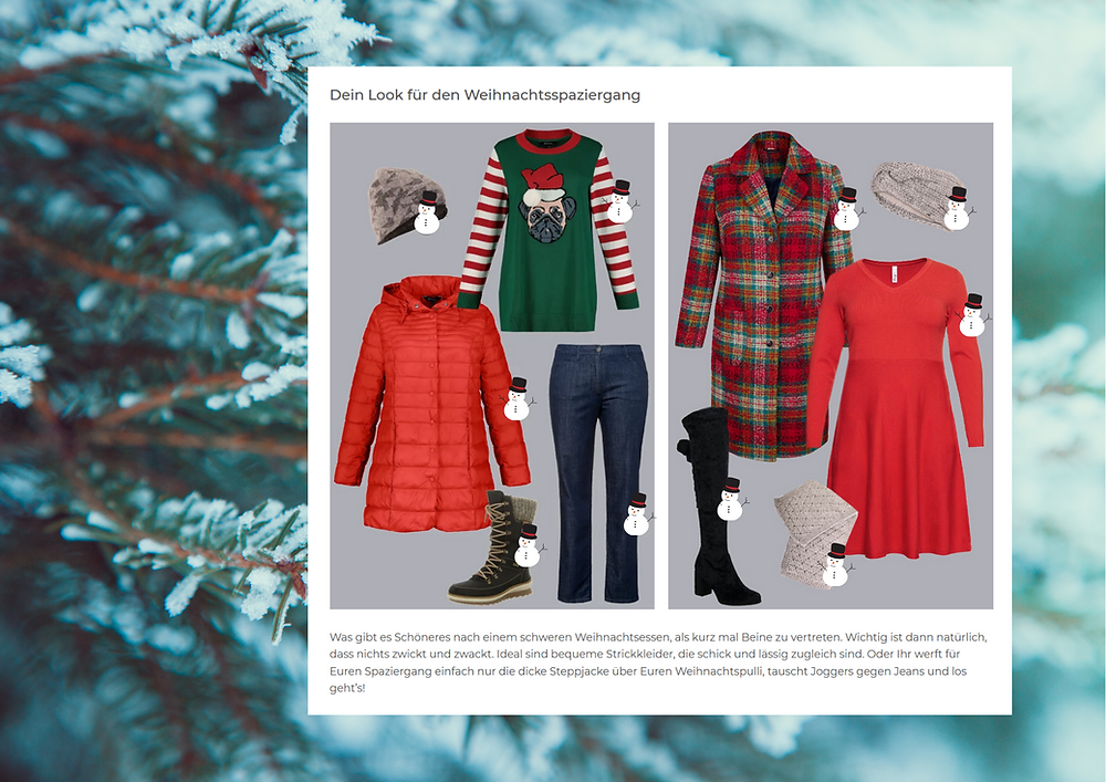 Outfit Tipps Winterspaziergang