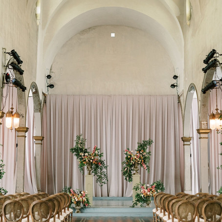 Marigny Opera House Wedding Design with Lovegood Wedding & Event Rentals in New Orleans, Louisiana