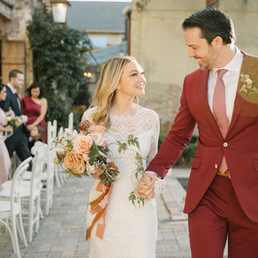 Brett & Heather | Race & Religious Wedding in New Orleans with Yellow, Pink, and Green Palet