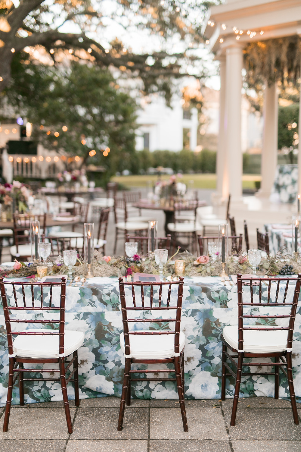 Elms Wedding with Southern, Gothic Drama and Charm | Lovegood Wedding & Event Rentals | Vintage, Specialty Rentals in the New Orleans Area