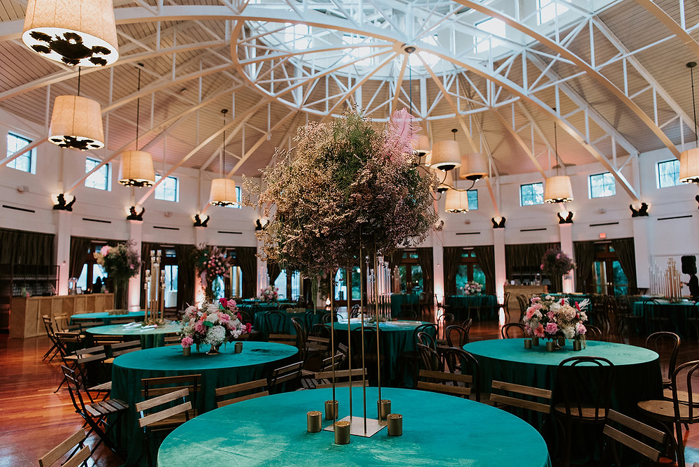 New Orleans' Tree of Life and Audubon Tea Room Wedding with Lovegood Wedding & Event Rentals with Pink Chuppah, Babybreath Floral Boa, and Many More Details  | Lovegood Wedding & Event Rentals, New Orleans Vintage Rental Company for Corporate, Parties, and Weddings | Lounge Furniture in NOLA, Specialty Rentals, Decor across the Southeast, fashion forward bride and groom with green velvet linens
