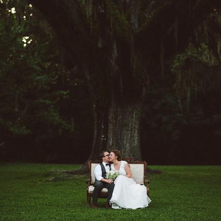 Lauren & Brenton | Lovegood's First Wedding | Eden State Park
