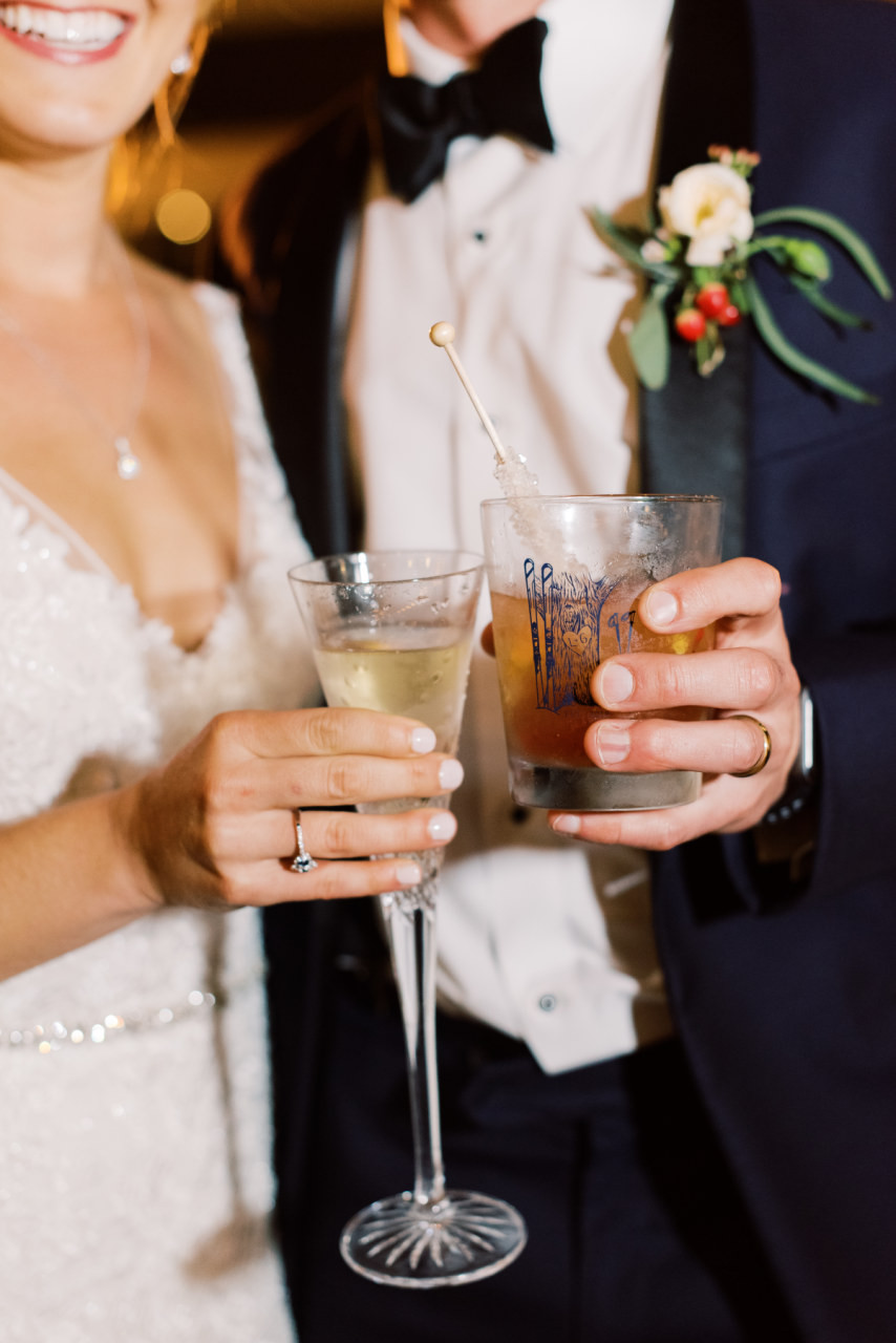 Aspen Inspired Wedding in Lafayette, Louisiana with Southern Fete, Sarah Beth Photography, and Lovegood Wedding & Event Rentals