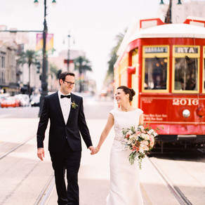 Becky & Seth | New Orleans Wedding at Il Mercato with Marissa Lambert Photography, Sapphire Even