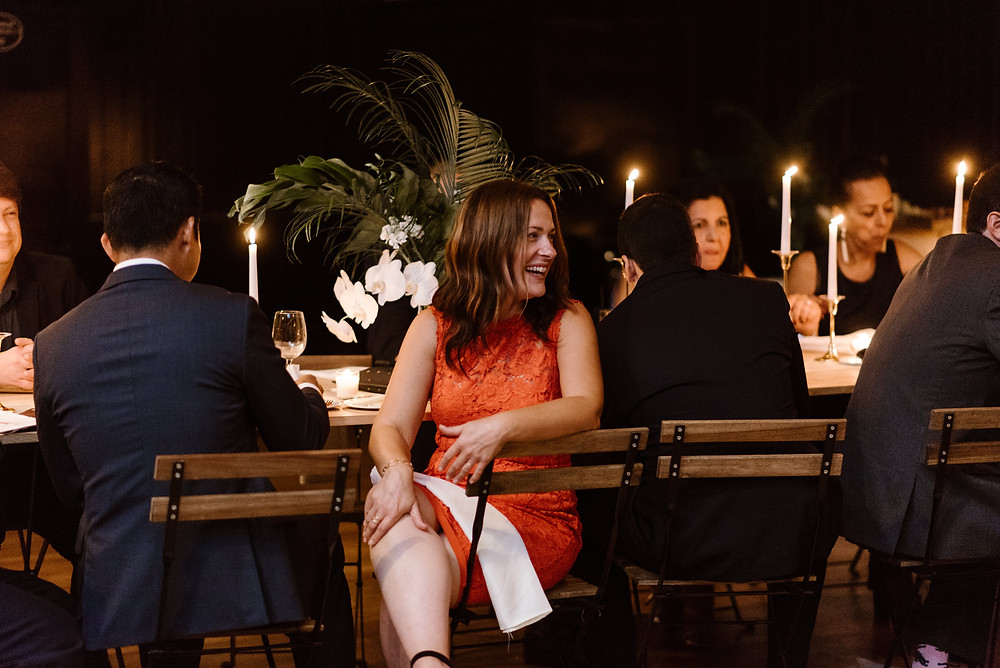 New Orleans Wedding at the Ace Hotel with Faraday Photography, Uncommon Camellia, Leaf + Petal NOLA and Lovegood Wedding & Event Rentals