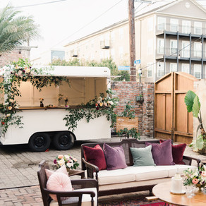 Gypsy, Mobile Bar from Lovegood Wedding & Event Rentals | Black Pearl Catering's Chef's