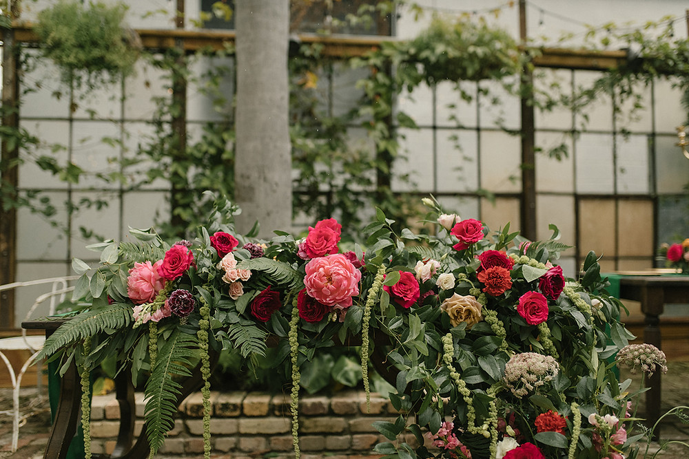 Anna & Oliver | Race and Religious Wedding with Antigua Floral and Sophie Berard Photography | Emerald, Pink Wedding with Classic, Vintage Charm
