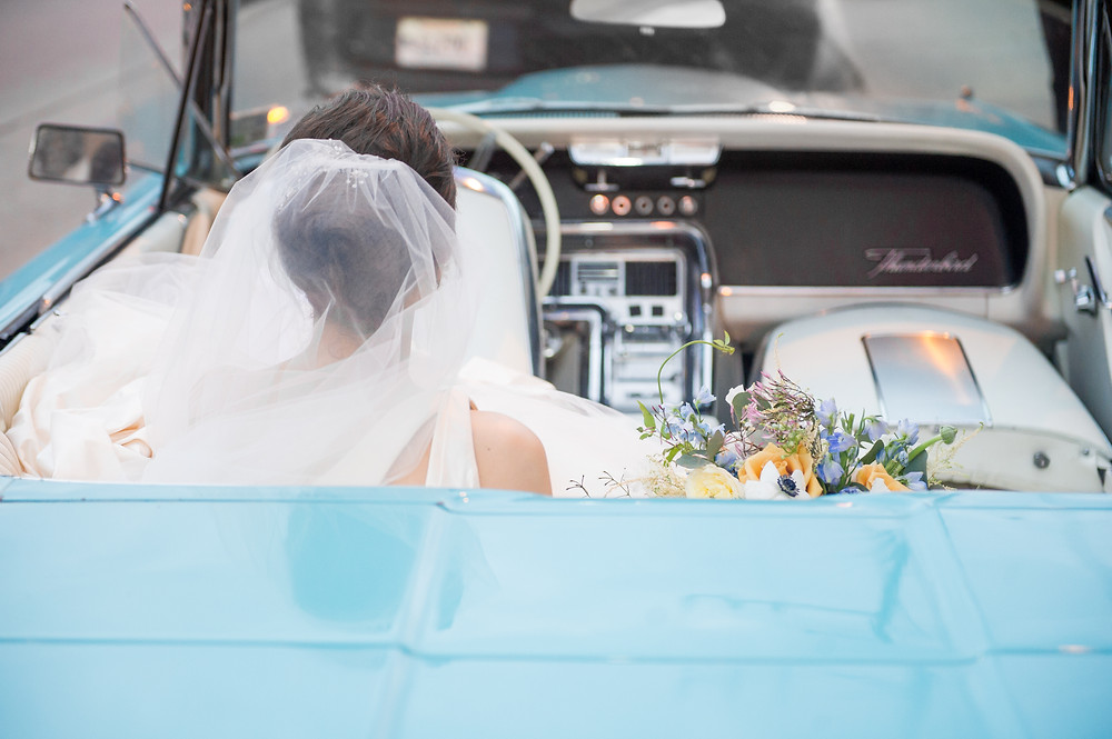 Il Mercato Wedding with Catherine Guidry Photography, Bee's Florals and Lovegood Rentals in New Orleans Lovegood Wedding & Event Rentals   Vintage, Specialty Rentals in the NOLA Area   Vintage Cars, Lounge Space, Playful Florals, Church Ceremony, and Beautiful Wedding Cakes