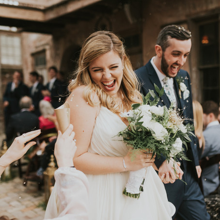 Sam & Paige | Race and Religious Wedding with Brooke Casey Weddings, Jen Menard Photography, and