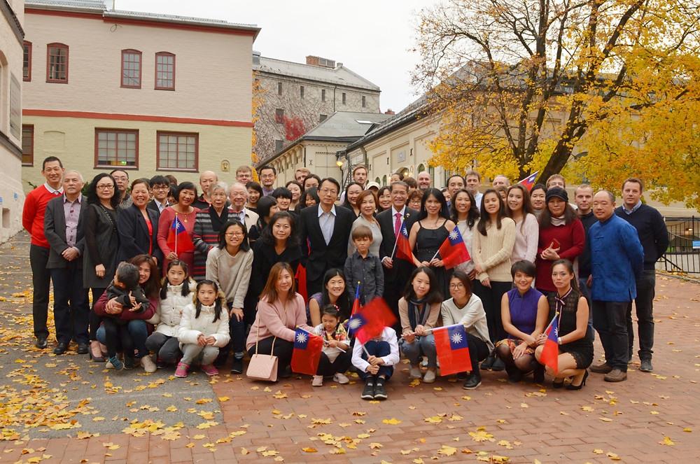 旅挪華人聯誼會國慶餐會邀集在挪威的台灣僑胞相聚歡慶雙十