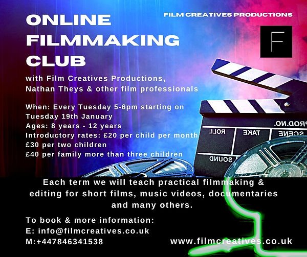 Film Creatives Online Filmmaking Club 20