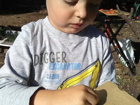 Weekly Activities. Week 3 - Woodland Abacus