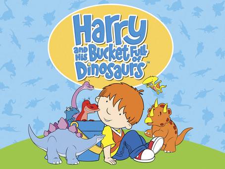 Weekly Activities. Book of the week - Harry and His Bucket Full of Dinosaurs