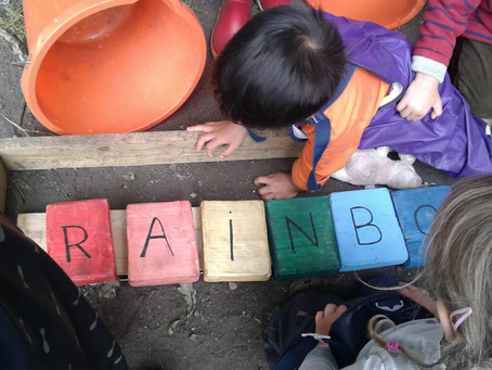 Weekly Activities. Week 6 - Rainbow Letter and Numbers Game