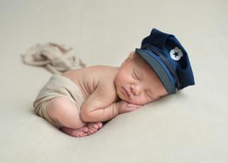 Police Officer Newborn Photos