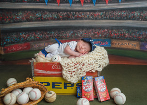 Baseball Newborn Photos