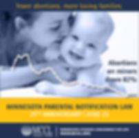 Minnesota parental notification law