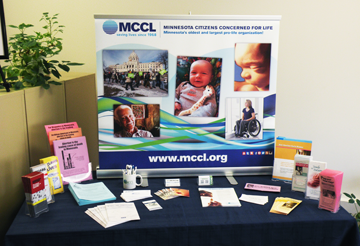 MCCL materials display