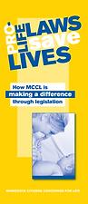 Pro-Life Laws Save Lives brochure