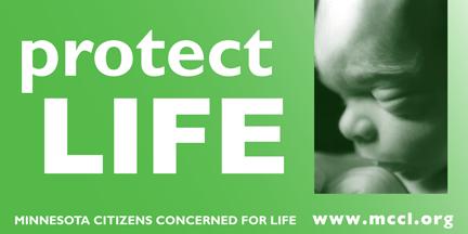 Protect Life MCCL billboard