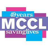 MCCL 48 years of saving lives logo