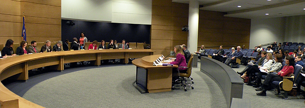 MCCL testifies at Senate hearing