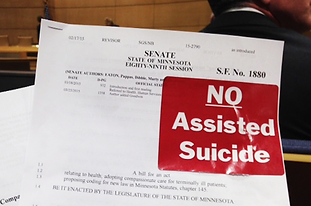 Vote no on assisted suicide in Minnesota
